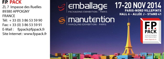 Salon de l'emballage 2014
